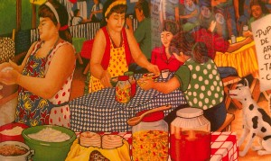 Pupusa Makers Mural