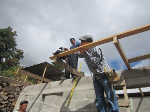 Working on Juan's House! 006