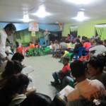 Mateo Teaching Discipleship Class at Barrio Church