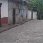Street scene in Honduras
