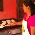 Making Pupusas Honduras Style