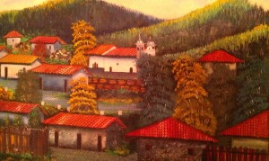 A Rustic Painting of Rural Honduras