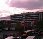 Hospital Esuela from Overpass