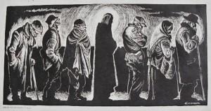 Christ of the breadline Fritz Eichenburg