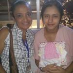 Alexandra & friend at hospital