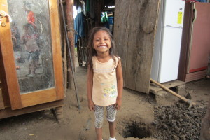 Happiness in the midst of poverty