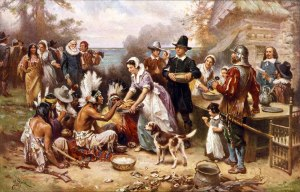Thanksgiving at Plymouth