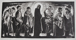 Christ of the breadline Fritz Eichenburg