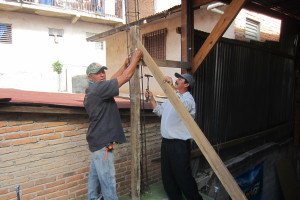 Juan & Humberto get the project staarted