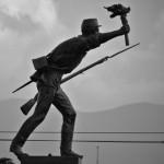 Juan Santa Maria statue
